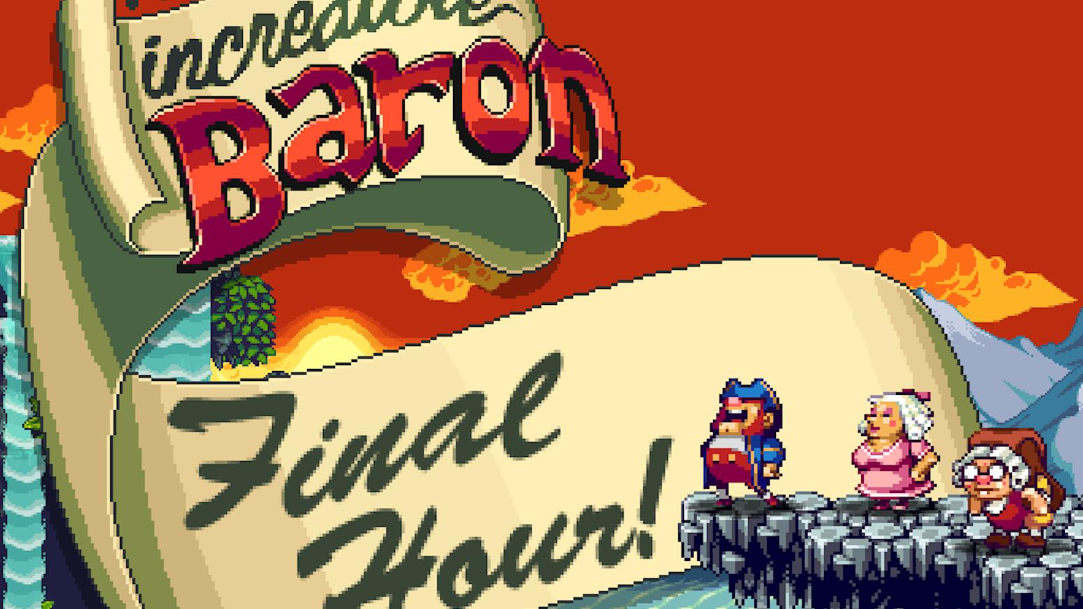 The Incredible Baron by FlatRedBall Studios » The Incredible