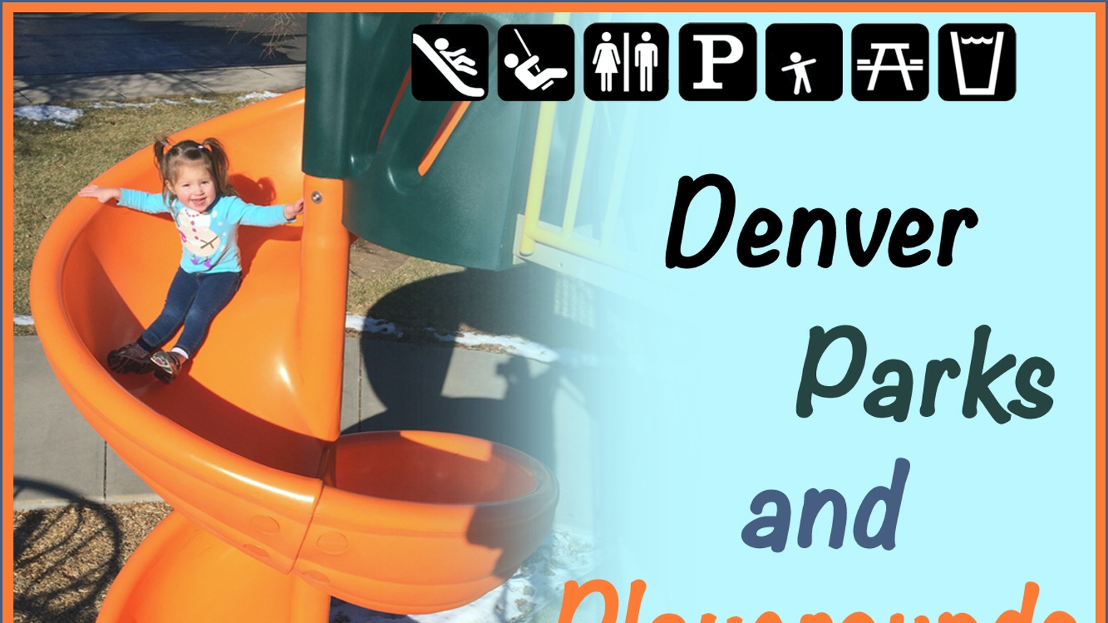 A guide book to over 500 playgrounds & parks in metro Denver. Includes GPS-enabled smartphone app.