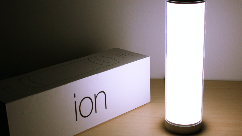 Ion: A Music Detecting Mood Light with Bluetooth Low Energy project video thumbnail