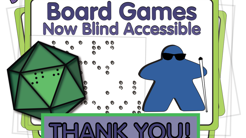 Board Games: Now Blind Accessible project video thumbnail