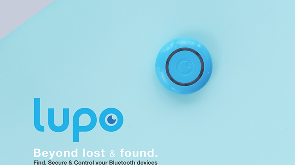 LUPO - Find, Secure & Control your Bluetooth devices project video thumbnail