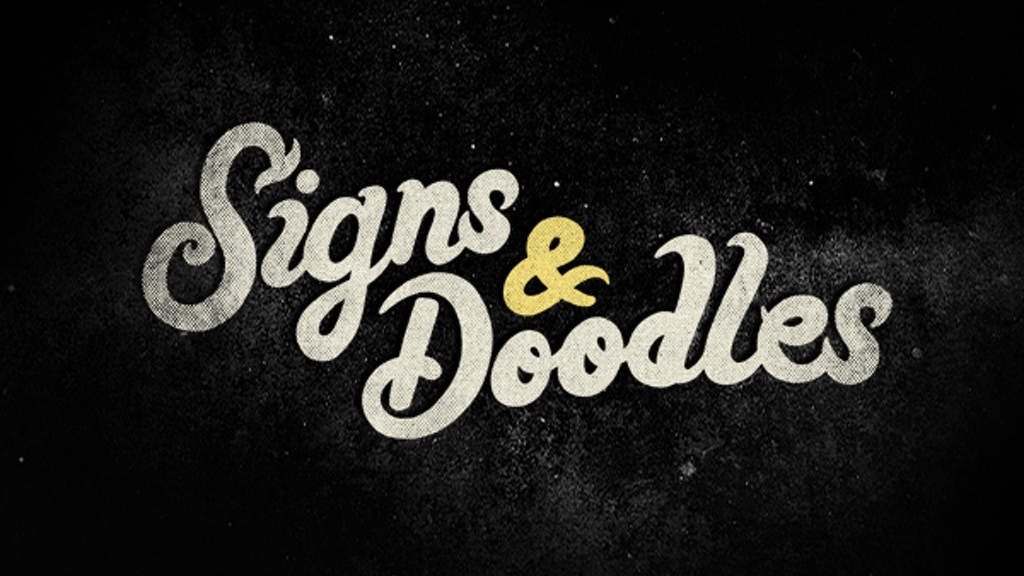 Signs & Doodles Book project video thumbnail