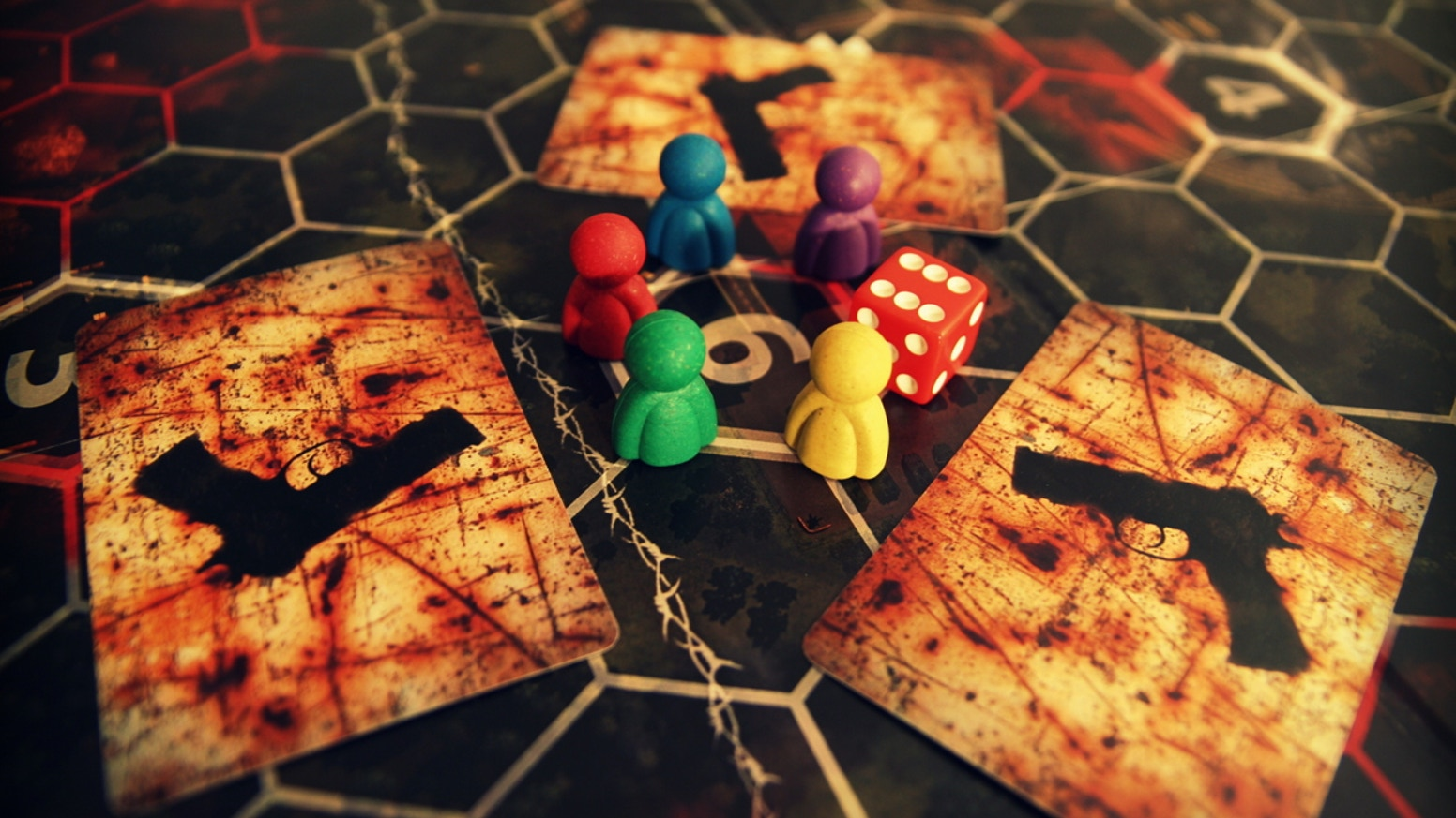 Collect artefacts, complete missions or hunt other players. A competitive board game that doesn't end if you die.