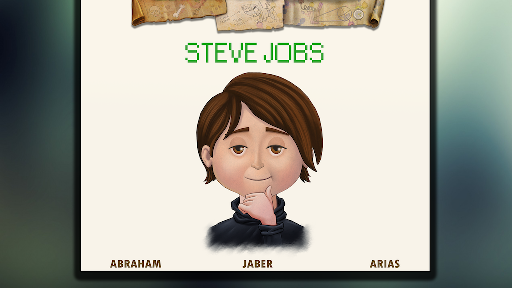 Visionary Kids: Steve Jobs project video thumbnail