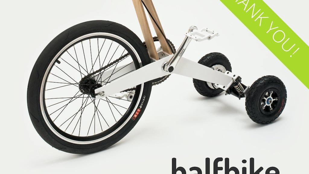 Halfbike project video thumbnail
