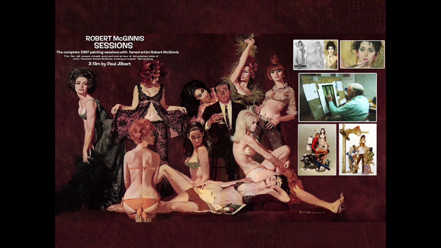 Art Grid Calendar : Robert mcginnis sessions canceled by paul jilbert