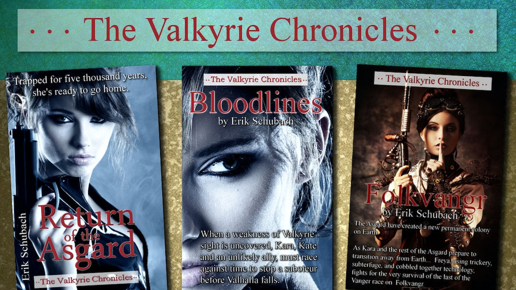 Project image for Valkyrie Chronicles Series to Audio Book