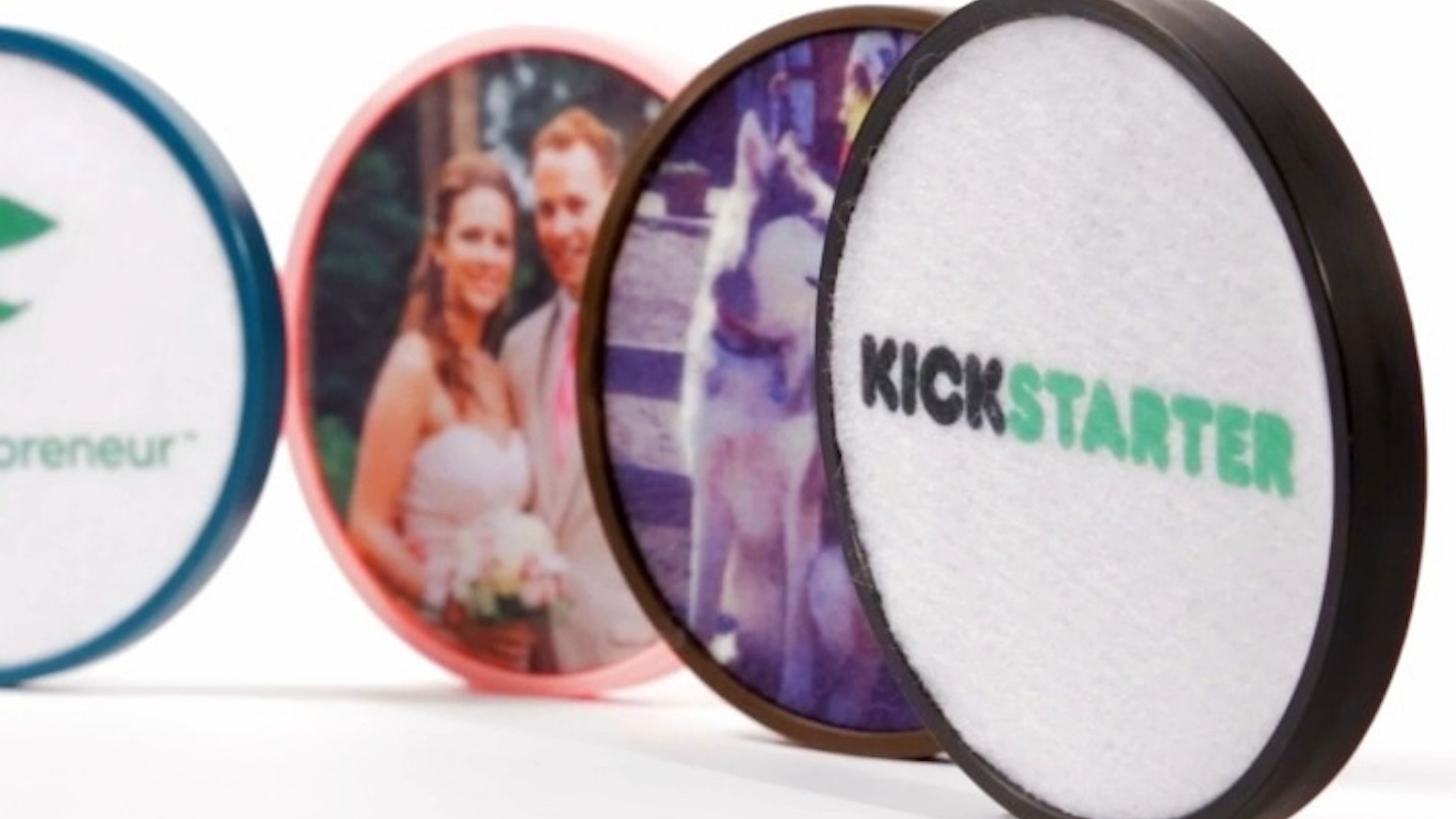 Custom drink coasters for businesses, sports teams, family rooms, and more!