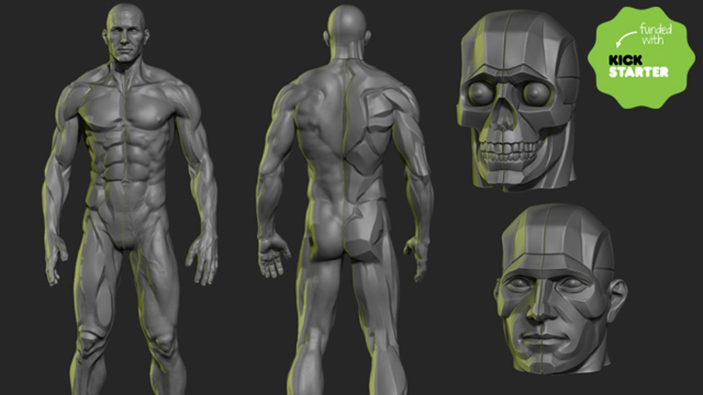 The Male Planar Statue project video thumbnail