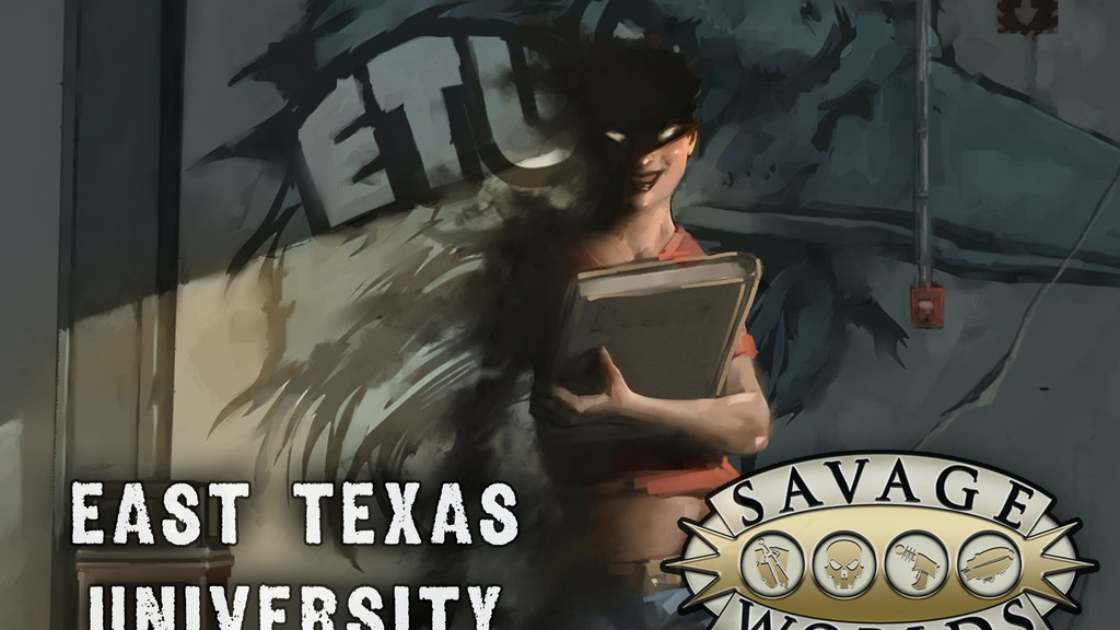 East Texas University - Savage Worlds project video thumbnail
