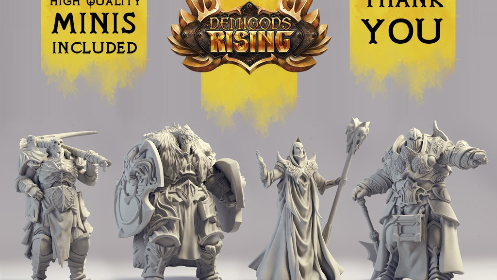Demigods Rising: Strategy Miniature Game project video thumbnail