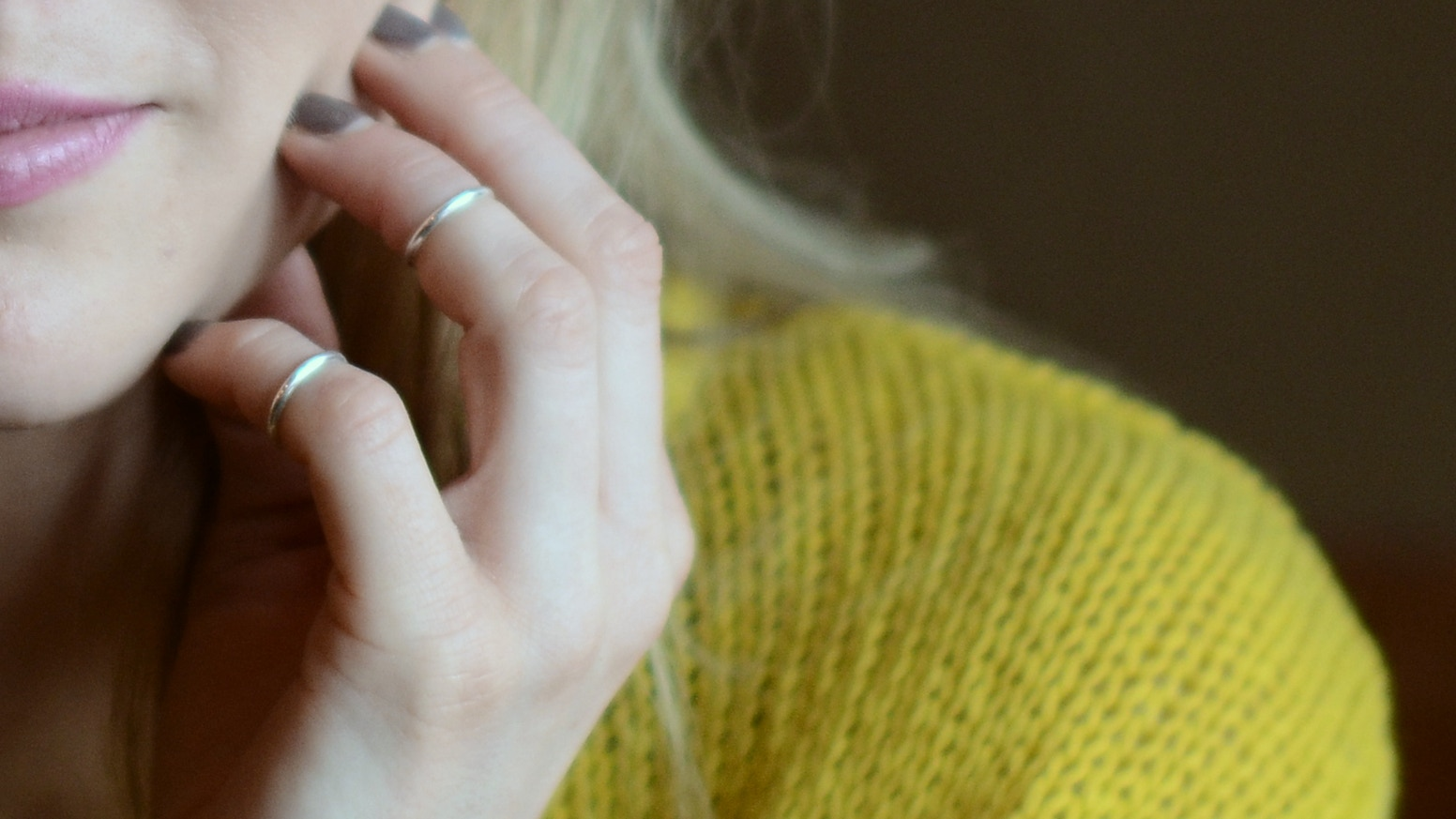 Mid-Finger Rings are a sophisticated accessory for fashionable fingers everywhere. Simple. Elegant. Fine Sterling Silver.