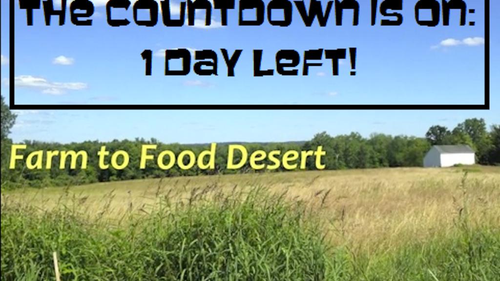 Farm to Food Desert project video thumbnail