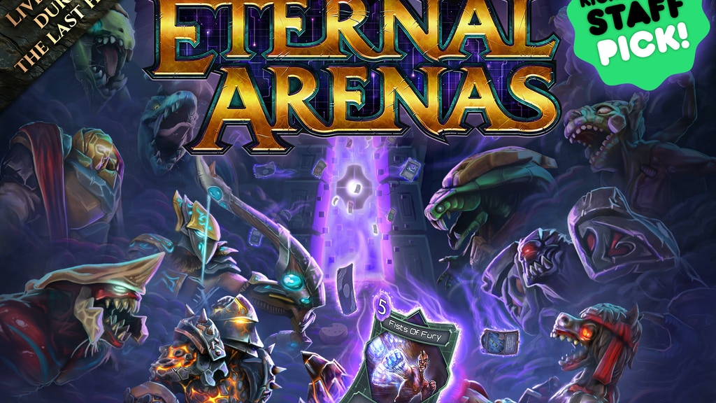 FORCED: Eternal Arenas project video thumbnail