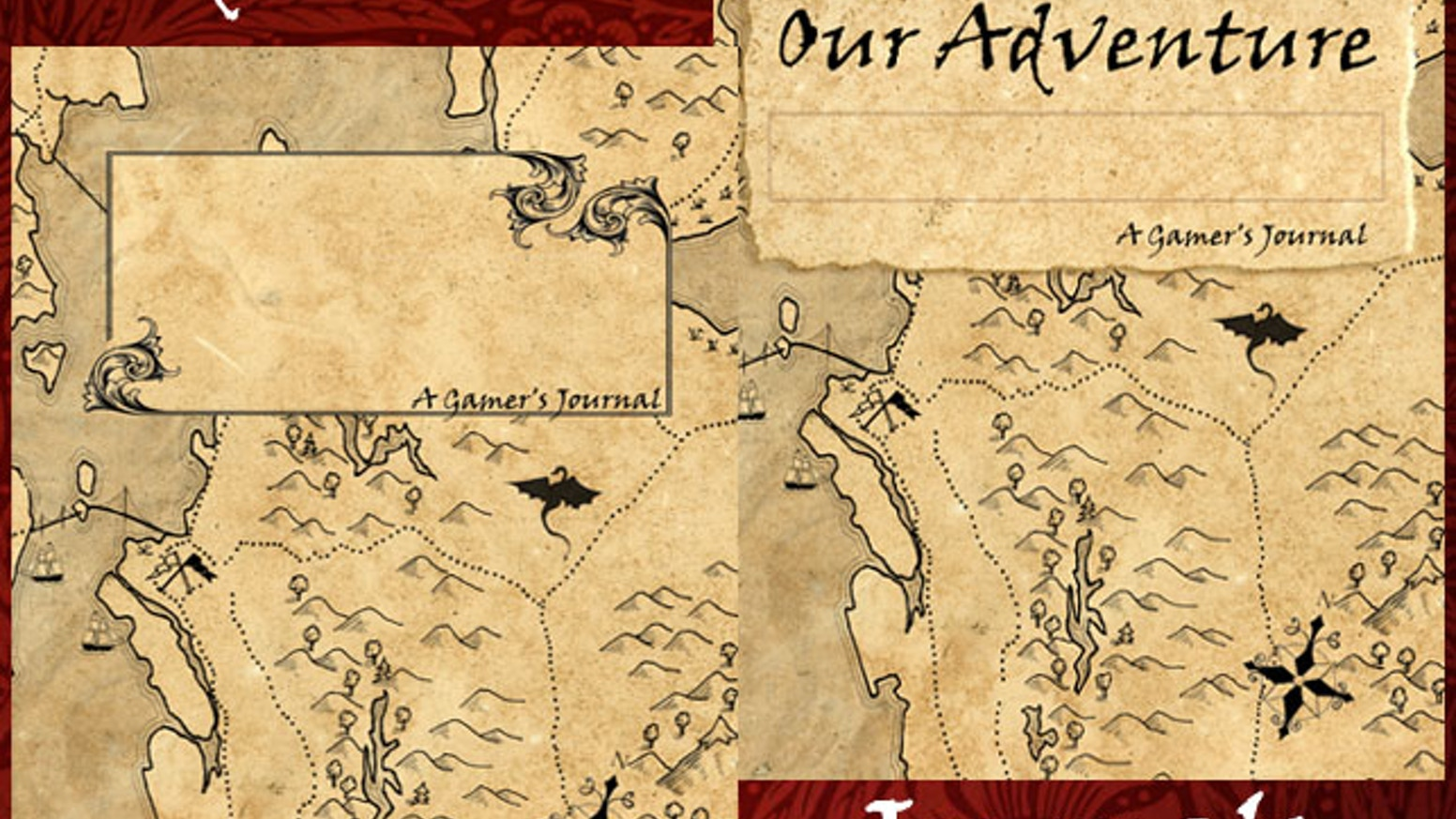 Every epic adventure deserves to be chronicled. Here is a 100 page or a 50 page journal designed specifically for gamers like you.
