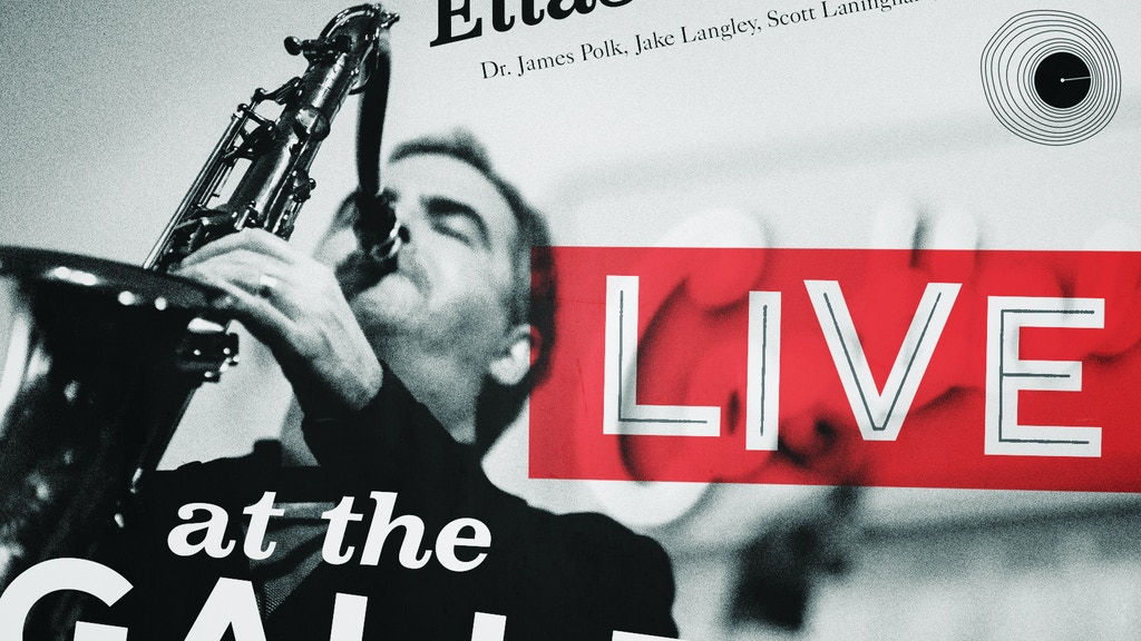 Elias Haslanger - LIVE at the Gallery project video thumbnail