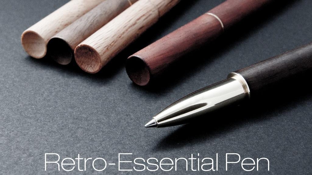 Retro-Essential Pen -- Brass & Woods project video thumbnail
