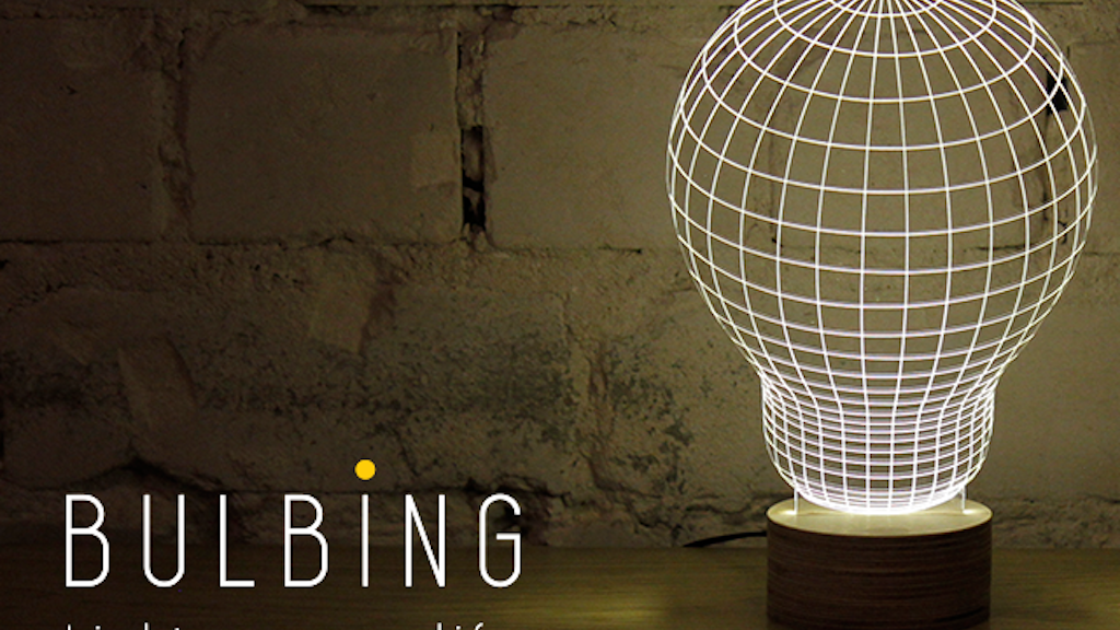 BULBING: a Magical Lamp Design | Light up your life! project video thumbnail