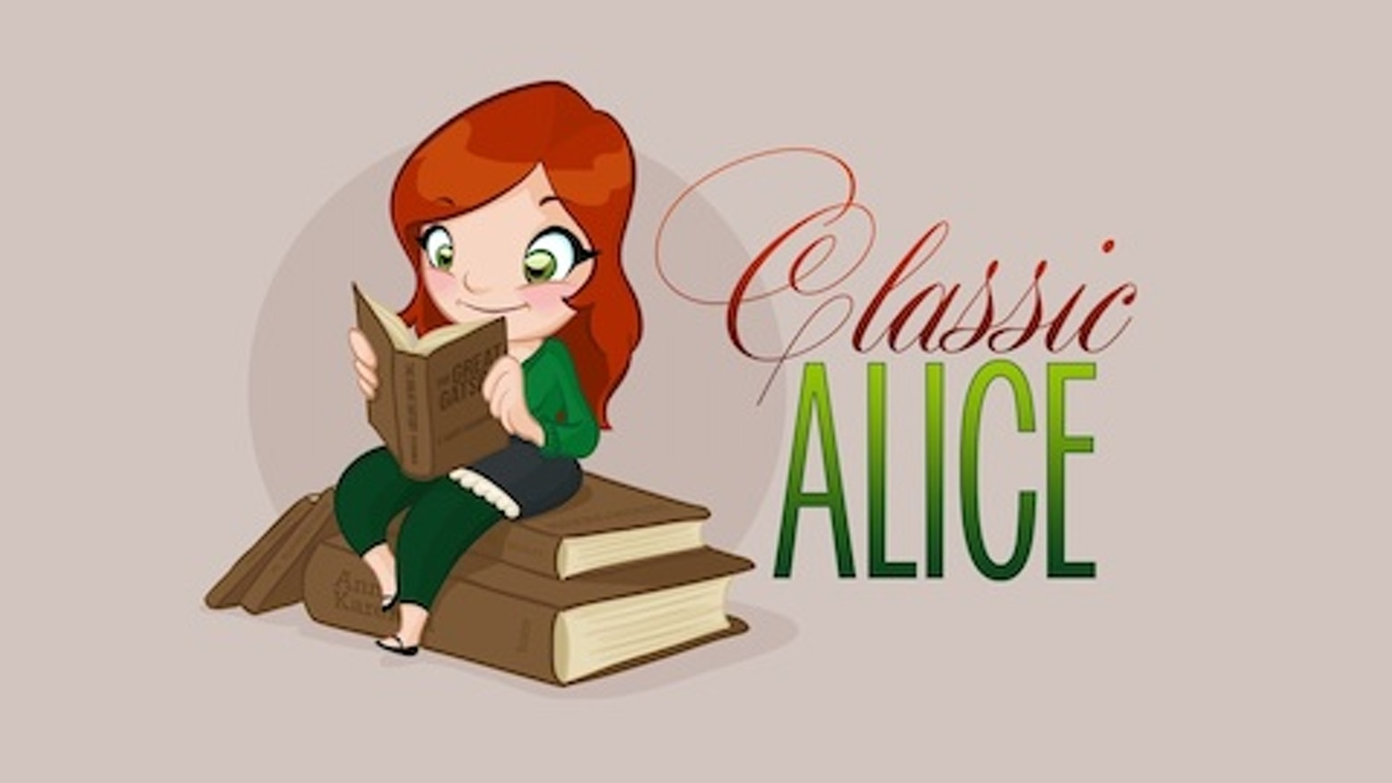 Living Life One Book at a Time! When Alice gets a bad grade on a test, she pairs with Andrew to live life according to classic novels!