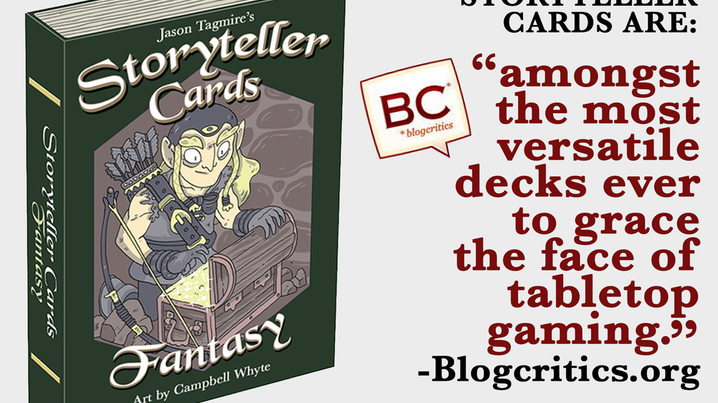 Storyteller Cards: Fantasy - Cards that inspire creativity. project video thumbnail