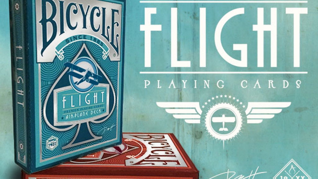 The Flight Deck: The Dawn of Aviation Playing Cards project video thumbnail