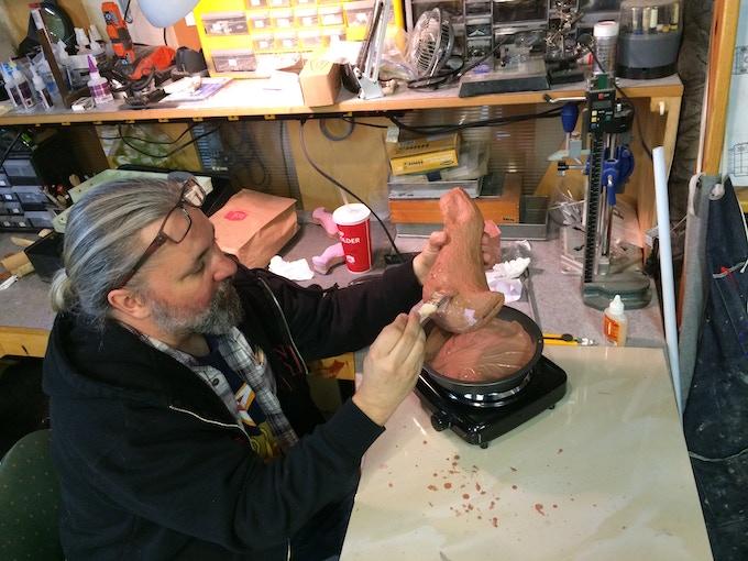 Beginning the Whatamagump Sculpt
