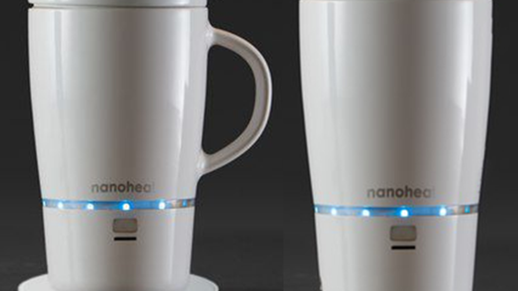 Nano Heated Wireless Mug Cup Project Video Thumbnail