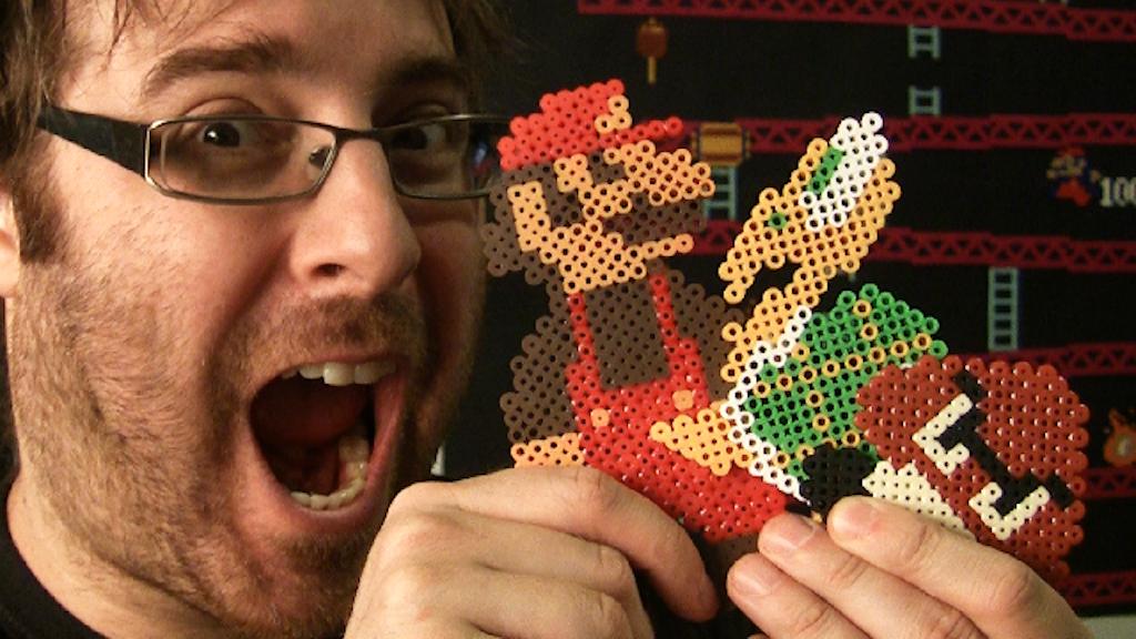 Super Mario Bros - Stop Motion Pixel Art project video thumbnail