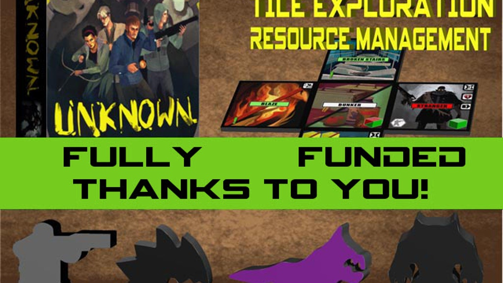 Unknown, 1-6 player cooperative boardgame project video thumbnail