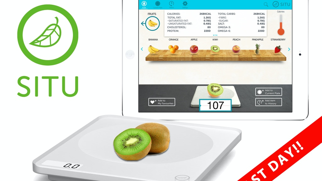 SITU Smart Food Nutrition Scale for iPad and Android tablets project video thumbnail