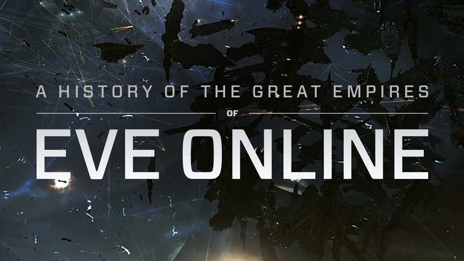 A narrative history book about the politics, warfare, betrayal, and culture that shaped the first decade of Eve Online.