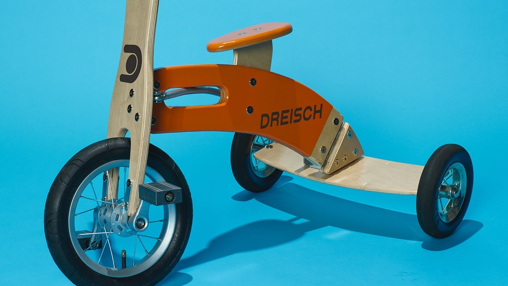 Dreisch Leaning Tricycle: The Trike That Rides Like a Bike! project video thumbnail