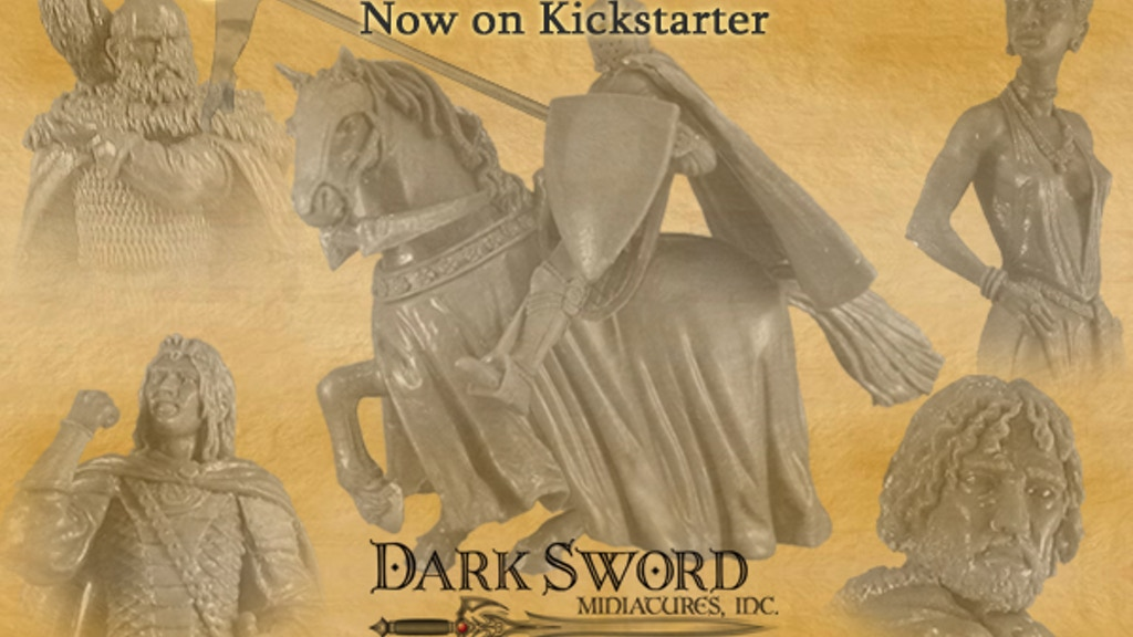 Dark Sword Miniatures GRRM Masterworks Major Line Expansion project video thumbnail