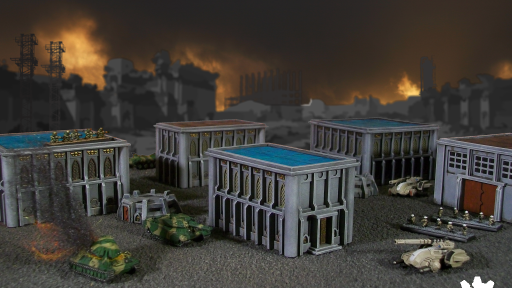 Wasteland Game Studio 6mm-scale Wargame Buildings project video thumbnail