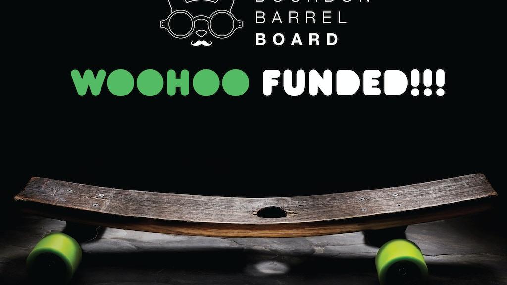 Flip & Jive—Handcrafted Reclaimed Bourbon Barrel Skateboards project video thumbnail