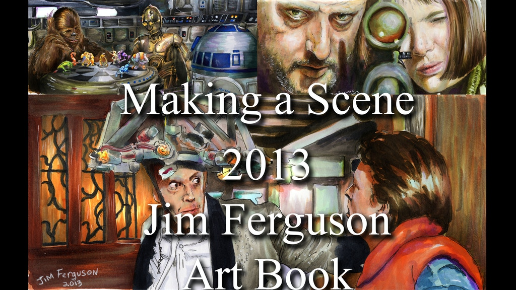 Making a Scene 2013 Art Book. Art from classic movies. project video thumbnail
