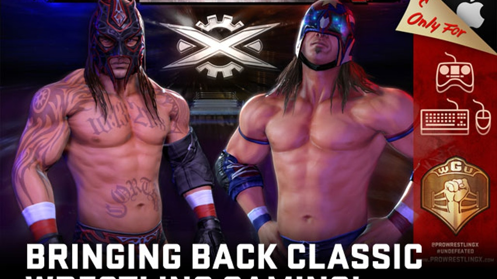 Pro Wrestling X – Bringing back classic wrestling gaming! project video thumbnail