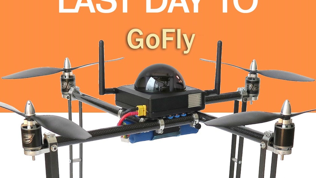 Easy Drone - the first modular plug-and-fly aerial solution project video thumbnail