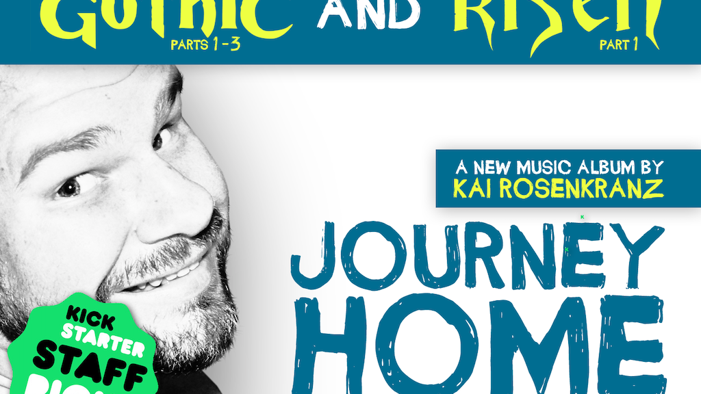 Kai Rosenkranz is making a new album: »JOURNEY HOME« project video thumbnail