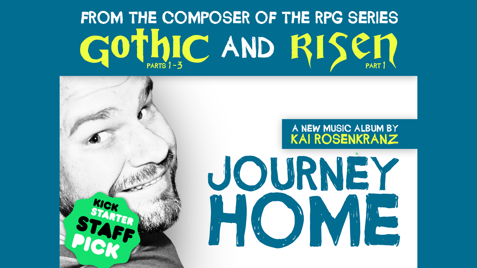 kai rosenkranz is making a new album journey home by kai i wrote orchestral game music for gothic and risen now