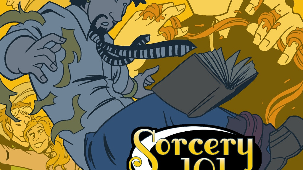 Sorcery 101 Omnibus Vol 1 of 2 project video thumbnail