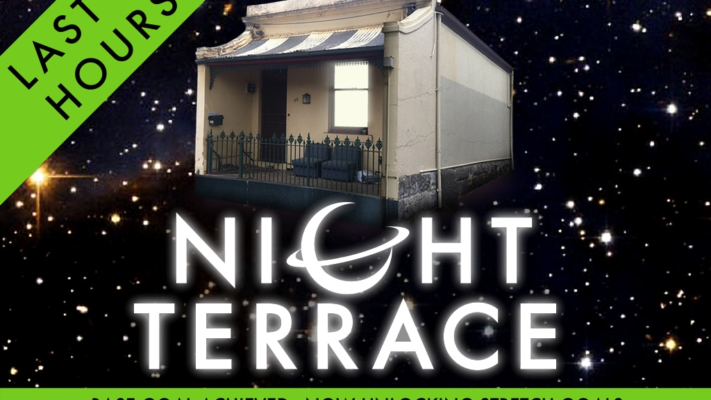Night terrace an original sci fi comedy audio series by for Terrace house series