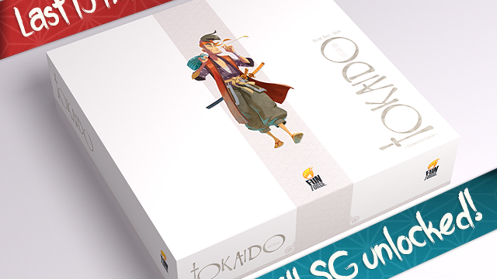 TOKAIDO - COLLECTOR'S EDITION project video thumbnail