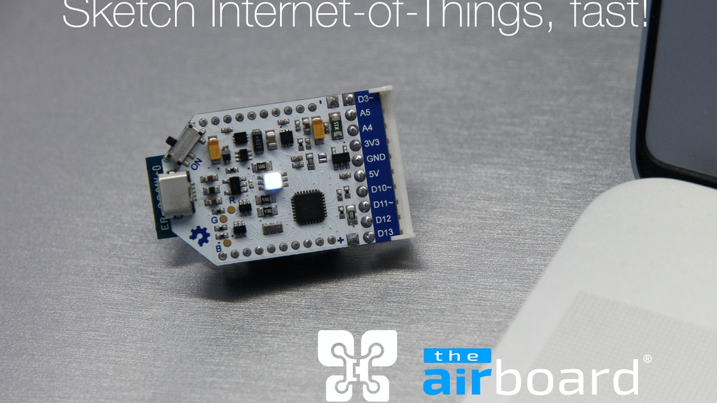 The AirBoard: Sketch Internet-of-Things, fast! project video thumbnail