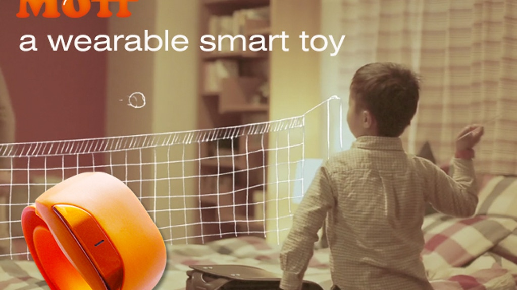 Moff: a wearable smart toy changes everything into toys project video thumbnail