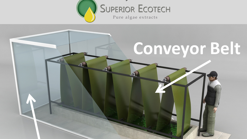 Algae Meets Breweries: algae greenhouse lowers brewery CO2 project video thumbnail