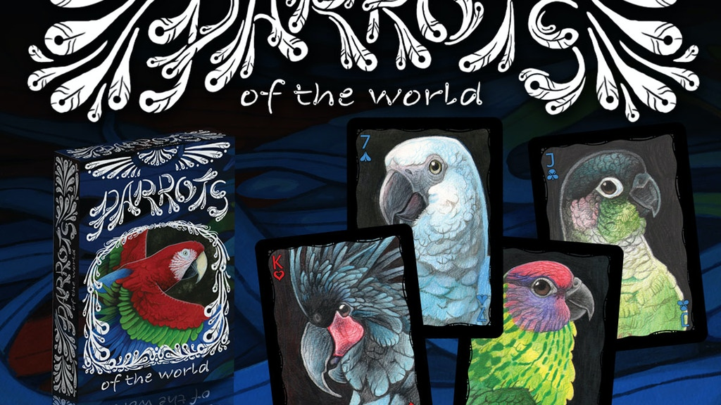 Parrots of the World Playing Cards project video thumbnail