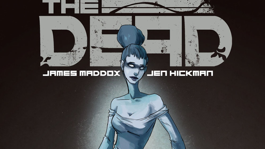 THE DEAD - An Indie Horror Comic project video thumbnail