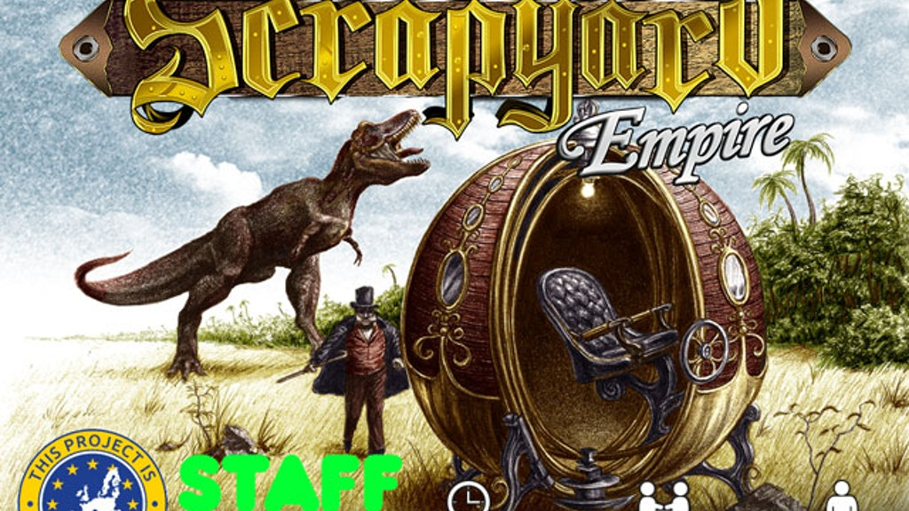 Scrapyard Empire: Strategic Card Game for One to Four People by Galliant Games — Kickstarter