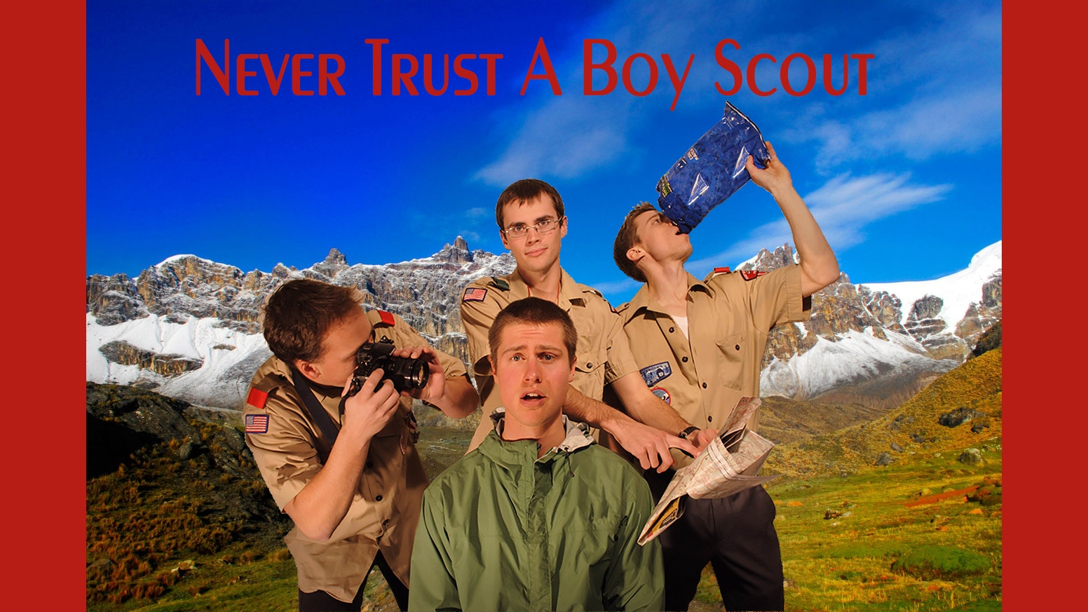 never trust a boy scout an essay collection by nate garberich essays on traveling cycling hiking and the existential crisis that is postgraduate life